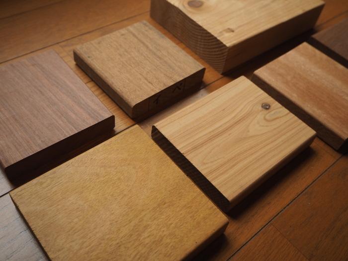 看板用 木材サンプル