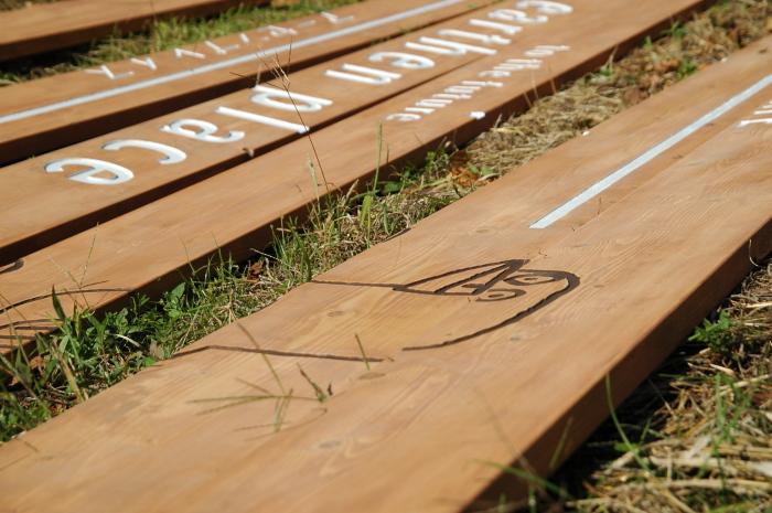 木材の看板