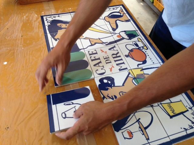看板デザイン制作現場 (3)