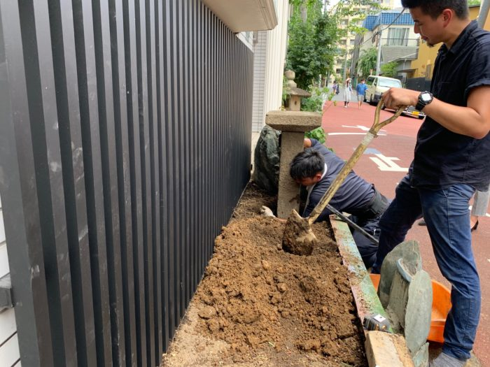 お庭づくり(植栽)と看板デザイン (5)